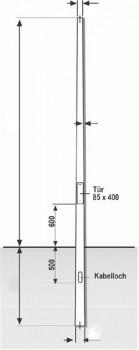 Lupus Kameramast - 4 Meter Bestpreis 27%