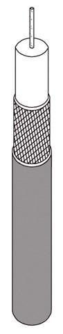 LUPUS 100 Meter BNC-Kabel RG59 (Rolle)