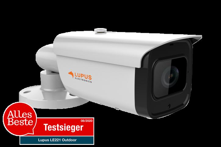 LUPUSNET LE221 8 Megapixel Stabkamera POE