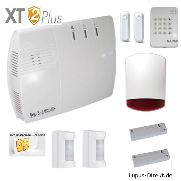 LUPUSEC - XT2 Plus Brisbane Außen Alarmanlagenpaket