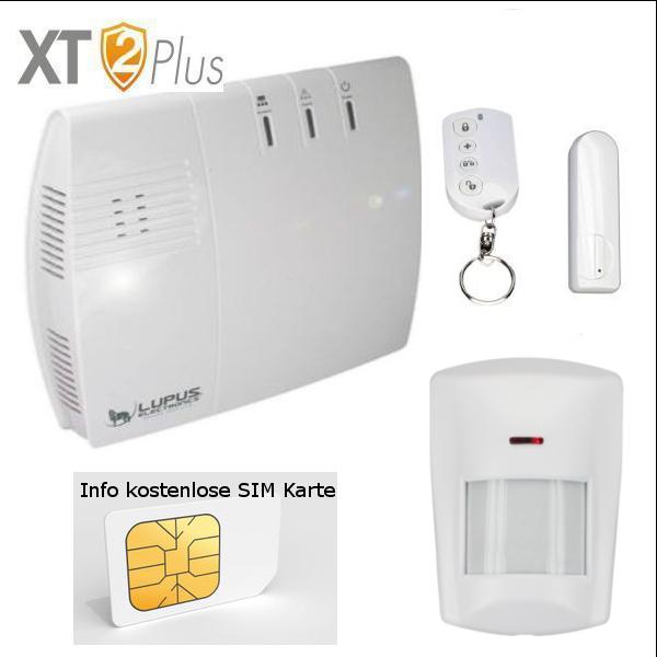 LUPUSEC - XT2 Plus Mietwohnung Alarmanlagenpaket