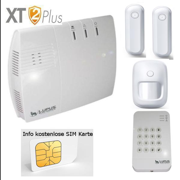 LUPUSEC - XT2 Plus V2 Starter Pack