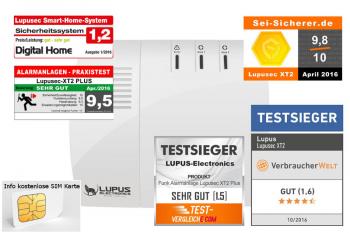 LUPUSEC - XT2 Zentrale XT2 Plus Bestpreis 27%