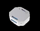 LUPUSEC Unterputzrelais mit Dimmerfunktion:Das LUPUSEC-XT Unterputzrelais wird zur Aktivierung und Deaktivierung von Drittgeräten verwendet (Smart Home Funktionen). So können Sie zum Beispiel Lampen anschließen und so konfigurieren, dass das Relais bei einer Alarmierung / zeit- oder temperaturgesteuert aktiviert wird. Außerdem ist es möglich, das Relais von der Ferne beispielsweise mit Ihrem Smartphone zu aktivieren. Durch die kleinen Ausmaße, passt unser Unterputzrelais in fast jede Elektrodose z.B. hinter Ihre Stromschalter.