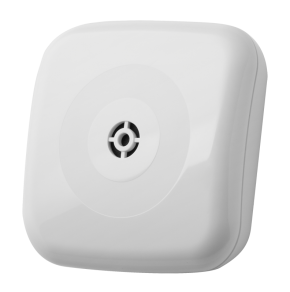 LUPUSEC - Glasbruchmelder V2      Der LUPUSEC - Glasbruchmelder V2   Der Glasbruchmelder V2 für die LUPUS Alarmanlage ist ein Sensor, der brechendes Glas sofort bemerkt und zuverlässig meldet. Der Glasbruchsensor wird dementsprechend in der Nähe von Scheiben und Fenstern installiert. Der Glasbruchmelder ist batteriebetrieben und steht innerhalb der Funkreichweite in Funkkontakt zur Alarmanlage. Kabel zur Signalübertragung oder eine Stromversorgung per Netzteil ist NICHT notwendig.  Egal ob Zuhause, Betrieb, Ladengeschäft oder Bürogebäude: der LUPUS Glasbruchmelder V2 macht Ihr Objekt sicher. Und durch das neue, formschöne Design passt er auch perfekt in Ihre Wohnung. Einfach, schön und sicher.