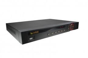 LUPUSTEC - LE926 Netzwerk Video Rekorder (16 Kanal)   Die Live-Anzeige am PC (Browser)     Einfacher zu bedienen, All in One, weniger Kosten  Vor allem im Segment der NVR-Rekorder waren die Preis-Leistungsverhältnisse bisher besonders ungünstig. Diese Zeiten sind jetzt vorbei: LUPUS-Electronics präsentiert die neuen LUPUSNET NVR's mit 8, 16 oder 64 Kanälen. Dabei werden Auslösungen bis 4K(UltraHD) bei 25 Bilder die Sekunde unterstützt. Einfach ins lokale Netzwerk eingebunden zeichnet der Rekorder zuverlässig zeitgesteuert, per Bewegungserkennung oder bei Alarm auf. Die von uns entwickelte Software ist klar strukturiert und besonders einfach zu bedienen. So ist das Interface am Gerät (zB. Wiedergabe) identisch zu der Bedienung via Browser oder beiliegender kostenloser CMS-Software, die einen Zugriff auf alle LUPUS-Rekorder der neuen Generation ermöglicht. Eine kostenfreie APP sowie eine CMS-Software liegt im Lieferumfang bei.     Das Wiedergabe-Menu       Nicht Lange-Suchen sondern Schnell-Finden  Das Wiedergabemenu ist in allen 3 Interface gleich (am Rekorder, via Webbworser, via Client-Software). Kennen Sie Eins, können Sie alle verwenden - ohne sich wieder mit einer völlig neuen Softwarebedienung beschäftigen zu müssen         Das Einstellungen Menu (Webbrowser)       Alle Eintsellungen übersichtlich strukturiert  Auch in unserer NVR-Serie findet sich das übersichtliche, klar strukturierte Einstellungen Menu wieder, dass viele unserer Kunden bereits von der IP-Kamera-Serie kennen. Eine einfache intuitiv zu bedienende Software ist der Kern unserers Antriebs.             Die Zeitplaneinstellungen - Eindeutig auf den ersten Blick       Einstellungen - Zeitplan  Kein Raum für Zweideutigkeit. Dieser Fokus lag für uns im Mittelpunkt bei der Erstellung eines einfach zu bedienenden Benutzerinterfaces.                          Kostenlos inklusive: die SmartVision Software für MacOS und Windows  Multi Monitor Support: Egal ob nur mit einem oder beliebig vielen Monitoren... 