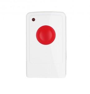 LUPUSEC - Panic Button  Der LUPUSEC Panic-Button ist zur sofortigen Alarmauslösung bei Überfällen gedacht. Durch sein kleines praktisches Format ist er einfach überall im Gebäude mitzunehmen. Durch Drücken des Buttons wird zuverlässig sofort der eingestellte Alarm ausgelöst, egal in welchem Zustand sich die Alarmanlage gerade befindet. Der Panic Button ist batteriebetrieben und steht innerhalb der Funkreichweite in Funkkontakt zur Alarmanlage. Kabel zur Signalübertragung oder eine Stromversorgung per Netzteil ist NICHT notwendig.