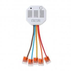 LUPUS - Unterputzrelais mit Stromzähler V3       Klein aber Smart!     Der smarte Schaltgehilfe für Zuhause: Das Unterputzrelais mit Stromzähler V3.  Das LUPUS - Unterputzrelais mit Stromzähler V3 wird zur Aktivierung und Deaktivierung von Drittgeräten verwendet (Smart Home Funktionen). So können Sie zum Beispiel Lampen anschließen und so konfigurieren, dass das Relais bei einer Alarmierung / zeit- oder temperaturgesteuert aktiviert wird. Außerdem ist es möglich, das Relais von der Ferne beispielsweise mit Ihrem Smartphone zu aktivieren. Durch die kleinen Ausmaße, passt unser Unterputzrelais in fast jede Elektrodose hinter zB. Ihre Stromschalter. Diese können wiederum mit dem Relais verbunden werden, so dass die Schalter weiterhin verwendet werden können.     Verbrauchsanzeige - einfach Smart!