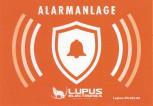 Lupus Direkt Aufkleber Alarmanlage aussen    Abmasse :   Breite : 14.7 cm  Höhe : 10.3 cm  Material : 90u PVC weiss glänzend  Offsetaufkleber : DIN A6  Anbringung : nur von außen