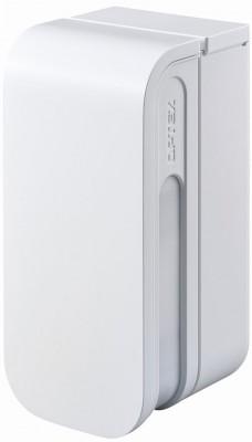 OPTEX BXS-R PIR Außenbewegungsmelder (weiss)  Der BX Shield ist eine Serie von Vorhang-Außenbewegungssensoren mit bis zu 12 m Erfassungsbereich auf jeder Seite. Die Detektoren für den Außenbereich sind ideal für die Erkennung von Personen in der unmittelbaren Umgebung Ihres Wohn- oder Geschäftsgebäudes und verfügen über vier PIRs, zwei auf jeder Seite. Der linke und der rechte Erfassungsbereich können vollständig unabhängig voneinander eingerichtet werden. Das BXS-AM ist das fest verdrahtete Zweifarbenmodell mit Anti-Maskierung.     Unabhängige Links / Rechts-Bewegungserkennung CCTV-Verbindung Vielseitiges Design Vier PIRs in einem Sensor für höchste Zuverlässigkeit   Der Erfassungsbereich, die Empfindlichkeit und die Alarmausgabe des Außenbewegungssensors können unabhängig voneinander links und rechts eingestellt werden. Der Erfassungsabstand kann leicht auf 2,5 m, 3,5 m, 6 m, 8,5 m bis 12 m auf jeder Seite eingestellt werden, die Empfindlichkeit kann von niedrig bis extrem hoch eingestellt werden, wobei nur 1 Grad Celsius Temperaturdifferenz detektiert wird. Der BX Shield kann einfach an eine CCTV-Kamera mit fester Kuppel angeschlossen werden, um einen visuellen Alarm auszulösen, wenn Personen in die unmittelbare Umgebung des Geländes eindringen. Der Vorhangsensor BX Shield wurde für den Benutzer entwickelt. Ein 90-Grad-Entriegelungssystem ermöglicht den einfachen Zugang zum Einstellungsbereich, eine Wasserwaage hilft dabei, den Sensor gerade zu halten. Eine schwarze und silberne Gesichtsabdeckung ist als Option erhältlich, so dass sich das Erscheinungsbild des Außen-Vorhangsensors leicht mit seiner Umgebung kombinieren lässt. Warum zwei PIR auf jeder Seite? um sicherzustellen, dass wir die beste Leistung bieten, die im Außenbereich benötigt wird. Der BX Shield Bewegungsmelder verfügt auf jeder Seite über zwei passive Infrarotstrahlen, von denen einer zum Boden und der andere zum Sensor zeigt. Beide Strahlen müssen ausgelöst werden, um die Erkennung zu bestätigen: