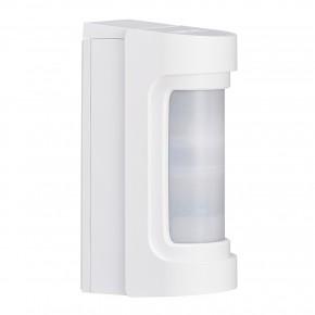 Optex VXS-RDAM PIR Aussenbewegungsmelder IR 12m batteriebetrieben mit Microwave Funktion  Drahtloser Doppel-Infrarotmelder für Außen mit Anti-Masking, IP 55, Reichweite 12 m  Der VXS-RDAM ist ein batteriebetriebener Bewegungsmelder. Er wird mit einem individuellen Funksender ausgestattet, um dann in Hersteller unabhängigen Funk-Einbruchmeldeanlagen, oder auch in jeder konventionellen EMA über Universalsender / Empfänger zu arbeiten. Das im Lieferumfang enthaltene Backboxgehäuse bietet in der Regel genügend Platz für den Sender und für die Batterien. In seiner Basis entspricht dieser Sensor dem VXI-ST. Er wird in Verbindung mit einer LUPUSEC Alarmanlage eingesetzt. Als Verbindung hierzu ist ein drahtloser Sensoreingang erforderlich. Der VXS-RDAM ist im Gegensatz zum VXS-RAN mit einer Mikrowellentechnologie ausgetstattet, dh. hier findet eine Dual Way Messung statt.  Zur Anbindung an die LUPUSEC Alarmanlage benötigen Sie einen drahtlosen Sensoreingang (12020) oder bei der XT3 in den Zentraleneingang .Batterien sind nicht dabei, empfohlen wird die Batteriebox RBB-01, welche 3x die AA Batterie aufnehmen kann und somit parallel die Stromversorgung für den OPTEX und den 12020 sicherstellt.