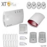 Das LUPUSEC XT2Einfamilenhaus Pack bestehend aus der 1 XT2 Plus Zentrale12 Türkontakten V22 Bewegungsmelder V21 Keypad V21 Außensirene V24 Rauchmeldern 2 Fernbedienungen V2Sie sparen gegenüber den Einzelkomponenten 5% in diesem Shop oder dem UVP des Herstellers.Dises Paket ist auch mit Minikonakten erhältlich , bitte in Bemerkungsfeld angeben.LUPUSEC-XT2. das neue Smart-Home Alarmsystem von LUPUS-Electronics.Zugriff jederzeit, überall!LUPUSEC-XT2 ist das neue Smart-Home Alarmsystem von LUPUS-Electronicseines der modernsten Systeme für Gebäudesicherheit und Smart Home-Steuerung. Die LUPUSEC - XT2 verwaltet bis zu 160 Gefahrenmelder / Hausautomationsmodule in zwei getrennt schaltbaren Alarmkreisen. Jeder Alarmkreis hat zusätzlich 4 getrennt schaltbare Zonen für maximale Flexibiltät. So können auch große Gebäude mit einem einfachen System schnell und kosteneffizient gegen Einbruch, Feuer, Gas und Wasser abgesichert werden.Einfache InstallationDas LUPUSEC-XT2 Smart-Home Alarmsystem ist schnell einzurichtenumständliches Anlernen der Sensoren über ein Tastaturfeld oder Signaltöne gehört der Vergangenheit an. Alle Sensoren tauchen sofort in der übersichtlichen Benutzeroberfläche Ihres Browsers auf und können mit wenigen Klicks konfiguriert werden. Das Video zeigt Ihnen die ersten Schritte:SmartHome ganz einfachFür umfangreiche Smart-Home Automatisierungsfunktionen sorgt eine flexible Funktionsbelegung der Melder:einfach zu bedienen und überall jederzeit zugriffsbereit - ganz einfach per Computer, Tablet oder Smartphone, über die revolutionär übersichtliche Benutzeroberfläche der LUPUSEC-XT2. Sie möchten unterwegs den Alarmstatus kontrollieren? Oder Alarmzonen einzeln an- oder ausschalten? Oder einfach nur kontrollieren, ob alle Türen und Fenster geschlossen sind? Kein Problem, ein Blick auf z.B. Ihr Smartphone genügt und Sie können in Ruhe weiter Ihren Tag genießen.Kontrollieren, steuern und einstellenAutomatisierungsfunktionen durch flexible Funktionsbelegung der MelderFü