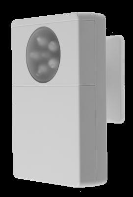 LUPUSEC - Universal IR Fernbedienung        Leichte Wandmontage möglich!     Automatisieren Sie Klimageräte, TV's oder Ventilatoren  Die LUPUSEC Universal IR Fernbedienung wird über die LUPUSEC-Alarmzentrale eingerichtet und gesteuert. Durch das Anlernen vorhandener Fernbedienungen können Sie zum Beispiel Ihre Klimaanlage, Lüfter oder Garagentore automatisieren und von unterwegs steuern. Insgesamt können dabei fünf Geräte mit je acht Befehlen angesprochen werden.