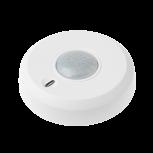 'LUPUSEC - 360 Grad BewegungsmelderEinfache MontageFunk 360 Grad Bewegungsmelder fuer die LUPUSEC Smarthome AlarmanlageDer LUPUSEC-XT 360 Grad  Bewegungsmelder reagiert auf jede Veraenderung des Temperaturfeldes. So alarmiert er Sie zuverlaessig bei Bewegungserkennung in Ihren Raeumlichkeiten. Der 360 Grad Bewegungsmelder wird an der Decke befestigt und erfasst unter sich einen 360 Grad Bereich mit max. 12 Meter Durchmesser. Somit eignet er sich ideal fuer die unauffaellige und lueckenlose Ueberwachung von Eingangsbereichen, Korridoren oder Lobbies. In einer Hoehe von 2.7 bis 4 Meter ist er vor Sabotage sicher und hat gleichzeitig einen optimalen Ueberblick auf den zu schuetzenden Bereich. Der durch einen Mikroprozessor gesteuerte Waermefeldsensor passt sich an die jeweiligen Gegebenheiten optimal an (Adaptive Digital Signal Processing) um Fehlalarme zu verhindern.Richten Sie dabei den Melder nicht auf Waermequellen wie Heizungen oder Fensterfronten / Wintergarten. Verwenden Sie hierfuer nur unseren Dualway-Bewegungsmelder (ArtNr. 12034).Der 360 Grad Bewegungsmelder ist wie alle Sensoren ebenfalls batteriebetrieben, verfuegt ueber eine Sabotageerkennung an der Hinterseite und wird per Funk an die Alarmanlage angebunden. Daher kann er einfach an jeder Wand oder Decke Ihrer Wahl  geklebt oder geschraubt werden. Befestigungsmaterial sind im Lieferumfang inbegriffen. Kabel zur Signaluebertragung oder eine Stromversorgung per Netzteil sind NICHT notwendig. Einfach den Bewegungsmelder ueber die Zentrale mit dem Alarmsystem verbinden und einrichten. Immer Informiert - das Web Interface der XT2 PlusSchnell integriert - einfach automatisiert.Einmal in das System integriert, meldet der Funk-Bewegungsmelder jede Aenderung des Zustands an die Zentrale.Dies beinhaltet eine Statusmeldung bei schwacher Batterie, bei Ausloesen des an der Hinterseite befindlichen Sabotagekontakts sowie beim Erkennen von Bewegungen. Letzteres koennen Sie fuer zahlreiche Automatisierungen verwenden: S