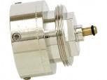 'Adapter fuer TA (M28x1,5) Ventilefuer die Montage unserer LUPUSEC Heizkoerperthermostate auf Vaillant VentilunterteileGewinde M30 x 1,5 nach Werksnorm.'