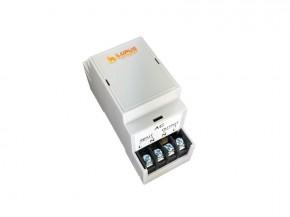 LUPUSEC - Hutschienenrelais DIN2    Klein aber Smart!     Der smarte Schaltgehilfe für Zuhause: Das Hutschienenrelais DIN2.  Das LUPUSEC - Hutschienenrelais DIN3 wird zur Aktivierung und Deaktivierung von Stromkreisen verwendet, die vom Elektrokasten ausgehend Endverbraucher versorgen. So können Sie zum Beispiel Lampen anschließen und so konfigurieren, dass das Relais bei einer Alarmierung / zeit- oder temperaturgesteuert aktiviert wird. Außerdem ist es möglich, das Relais von der Ferne beispielsweise mit Ihrem Smartphone zu aktivieren. Durch die einfache und unauffällige Montage auf der Hutschiene im Elektrokasten, können alle im Haus befindlichen Stromkreise zentral automatisiert werden.     Verbrauchsanzeige - einfach Smart!         Energieverbrauch und Kosten stets im Blick:  Der schlaue Schaltgehilfe macht Ihr Zuhause komfortabler, sicherer und auch sparsamer: Per Knopfdruck oder vollautomatisch unterbricht das Hutschienenrelais die Stromzufuhr und spart damit intelligent Energie und Kosten. Diese haben Sie stets im Blick, denn das Modul sendet den Verbrauch aller angeschlossenen Geräte an die Zentrale. Hier sehen Sie den aktuellen Verbrauch, sowie eine Hochrechnung der Kosten für die Woche, den Monat oder das Jahr.