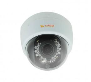 LUPUSNET HD - LE966   Maximale Details, auch bei Dunkelheit     Das Topmodell für FULL HD-Videoüberwachung. Mit Spitzenwerten bei Lichtempfindlichkeit und Bildqualität  Die LUPUSNET HD - LE966 wird mit bis zu 1920x1080 Pixel bei 60 Bildern pro Sekunde nahezu jeder Anforderung gerecht.Ihre hervorragende Ausstattung verbunden mit der vergleichsweise günstigen Preisstruktur macht sie zu einem unschlagbaren Verbündeten für jede Herausforderung. Auch weil Sie alle Bild-Parameter individuell einstellen können: Shutterzeiten, echtes WDR und Sense-up können individuell nach Lichteinfall eingestellt werden. Außerdem ist der Schwellenwert für die Tag-/Nachtumschaltung einstellbar. So spielt der neue LUPUSNET HD FULL HD-Bildsensor auch bei Dunkelheit seine Stärken voll aus. Zusammen mit Ihrer unauffälligen Gehäuse-Ausführung und dem besonders breiten Blickwinkel, ist sie die perfekte Lösung für den Inneneinsatz.     Das IP-Kamera Einstellungen-Menü       Schnell einzurichten, einfach zu bedienen  Das für diese IP-Kameraserie entwicklete Einstellungenmenü, soll den Benutzer einfach und intuitiv durch die Funktionen der Kamera führen. Sollten Sie dennoch Fragen haben, zögern Sie nicht uns anzurufen !             Einstellungen: Bewegungserkennung       Die neuartige LUPUSNET HD Bewegungserkennungsfunktion  Unsere IP-Kameraserie hat eine neuartige Bewegungserkennungsfunktion, die die Anzahl von Fehlalarmen drastisch reduziert. So kann erst dann Alarm ausgelöst und aufgezeichnet werden, wenn sich ein Objekt über eine einstellbare Dauer vor der Kamera bewegt. Hierzu können Sie eine Sensitivität (0-10), die Intensität (0-10) sowie eine Zeit in Sekunden (3-10) angeben. Erst wenn sich das Objekt, wie hier im Beispiel, 3 Sekunden lang bewegt und einen Bewegungsausschlag über der angegebenen Intensität (rote Linie) auslöst, wird Alarm gegeben bzw. aufgezeichnet.                 All in One   Unsere Produkte schnüren Ihnen ein umfassendes Sicherheitspaket  Immer informiert: über die kosten